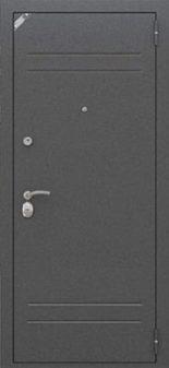Входная дверь Zetta Модель Комфорт 2 (серебро)