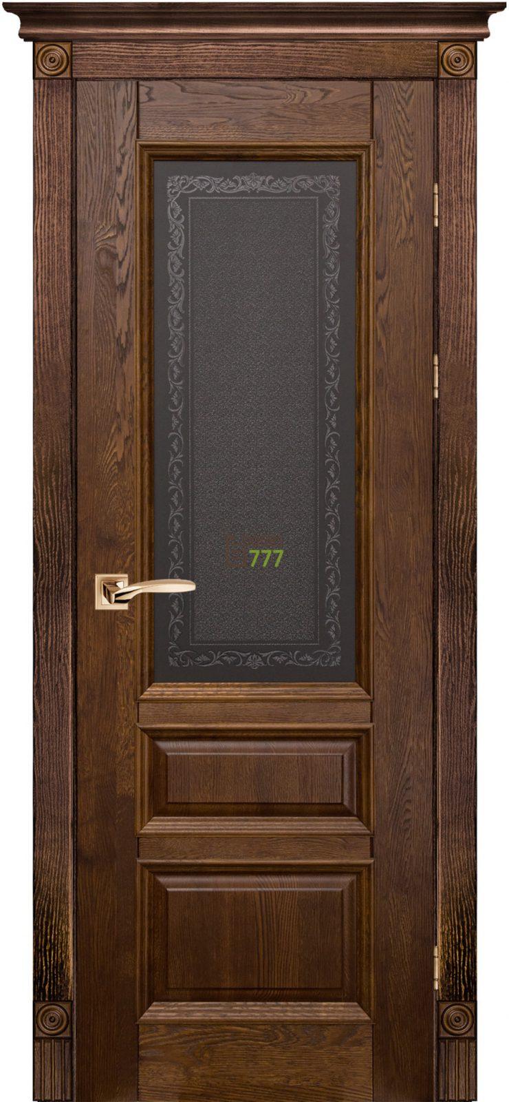 Дверь Ока массив дуба Aristocrat модель №2