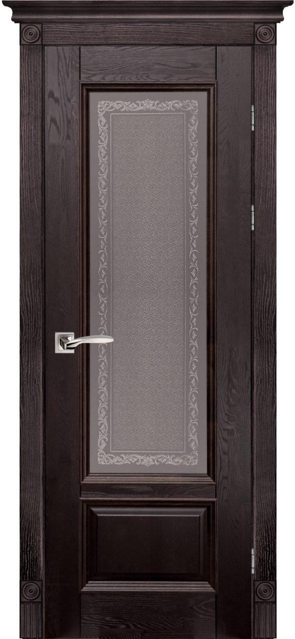 Дверь Ока массив дуба Aristocrat модель №4