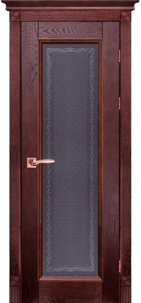 Дверь Ока массив дуба Aristocrat модель №5