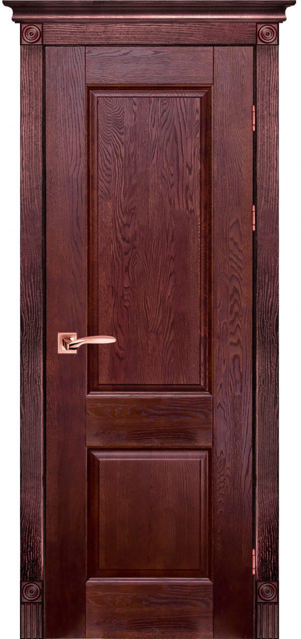 Дверь Ока массив дуба Classic модель №1