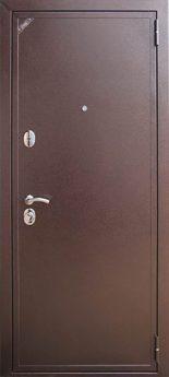 Входная дверь Zetta Модель Евро 2 (темный орех)