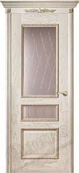 Дверь Оникс модель Версаль с декором