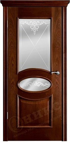 Дверь Оникс Коллекция Классика Эллипс