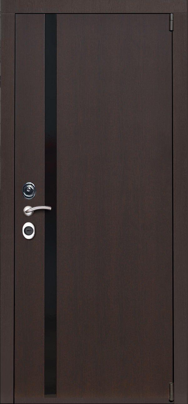 Входная дверь FeDoor Турин Орех патина