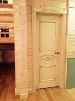 Межкомнатная дверь Эллипс с декором Оникс