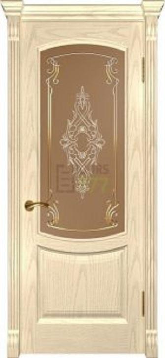 Дверь Luxor массив дуба модель Лаура-2