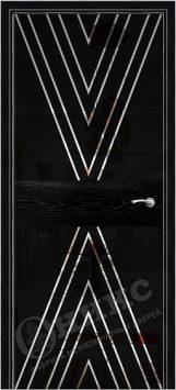 Дверь Оникс Коллекция Техно модель Соло 2