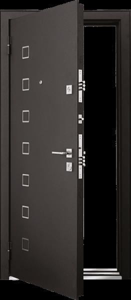 Входная дверь MASTINO AREA Черный шелк / Венге