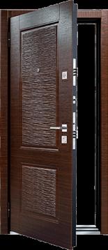 Входная дверь MASTINO LINE 2 Венге темный - Венге темный