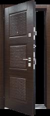 Входная дверь MASTINO LINE 3 Венге тёмный - Венге светлый