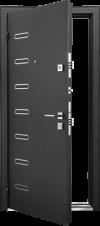 Входная дверь MASTINO PONTE Черный шелк - Венге