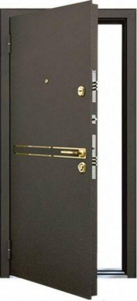 Входная дверь MASTINO STRADA Бронза - Дуб медовый