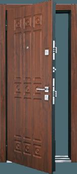 Входная дверь MASTINO Novara Орех грецкий - Орех грецкий