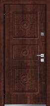 Входная дверь MASTINO Trento Дуб мореный-Дуб мореный