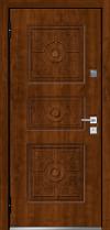 Входная дверь MASTINO Trento Орех грецкий-Орех грецкий