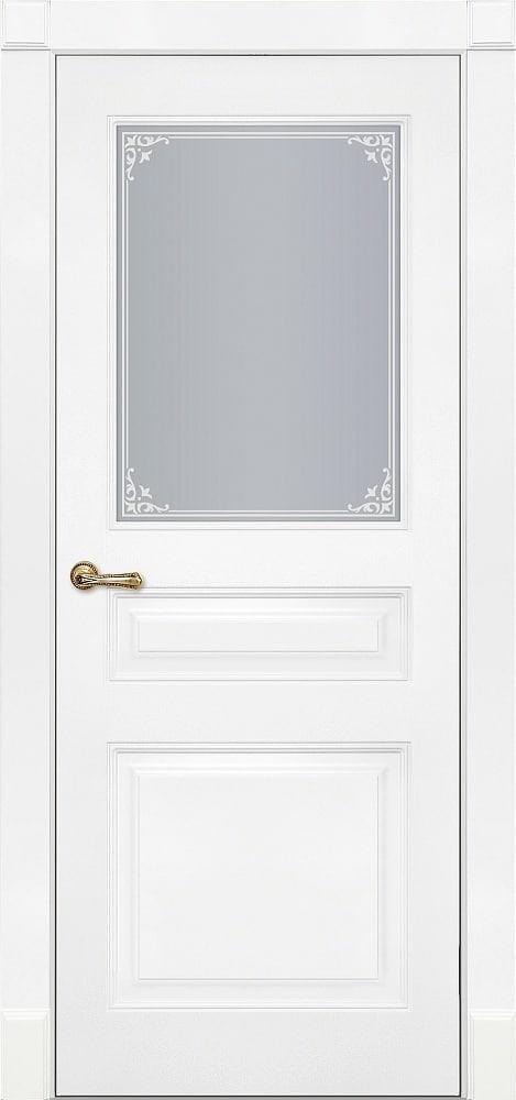 Двери Fineza Puerta Коллекция CLASSIC эмаль модель PO RIMINI 3
