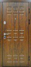 Входная дверь Спарта 2К темный дуб