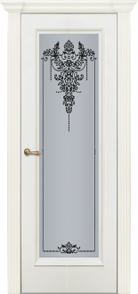 Двери Fineza Puerta Коллекция CLASSIC эмаль PO FLORENCIA 1