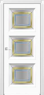 Двери Fineza Puerta Коллекция CLASSIC эмаль PO FLORENCIA 9