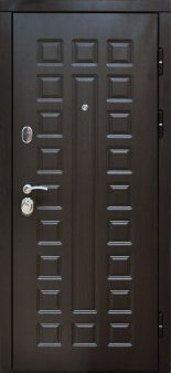Входная дверь Сенатор 2К белая лиственница