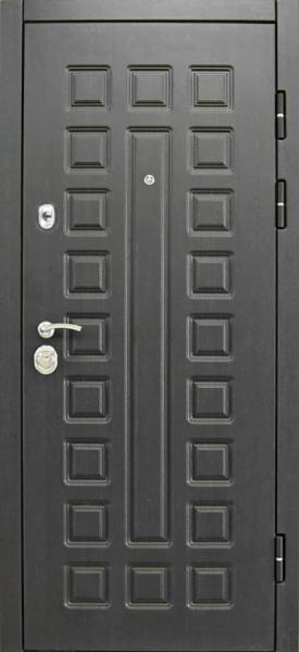 Входная дверь Сенатор 3K Vinorit Белая Лиственница