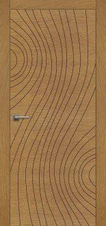 Дверь Fineza Puerta MODERN шпон модель PG INCISA 8