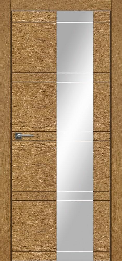 Дверь Fineza Puerta MODERN шпон модель PO INCISA 4