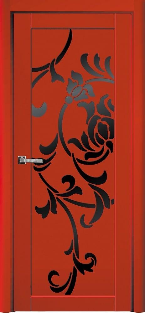 Дверь Fineza Puerta MODERN эмаль модель PO ORIGAMI 7