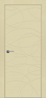 Дверь Fineza Puerta MODERN эмаль модель PG BLANCA 9