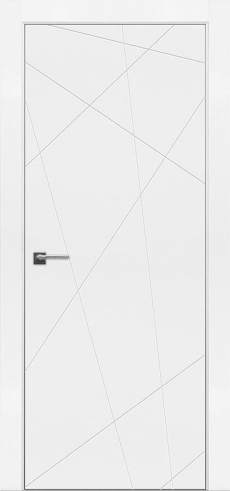 Дверь Fineza Puerta MODERN эмаль модель PG BLANCA 2