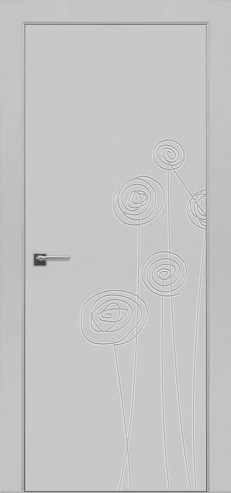 Дверь Fineza Puerta MODERN эмаль модель PG BLANCA 1