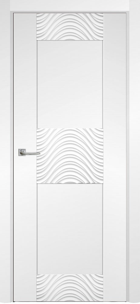 Дверь Fineza Puerta MODERN эмаль модель PG TURIN 1
