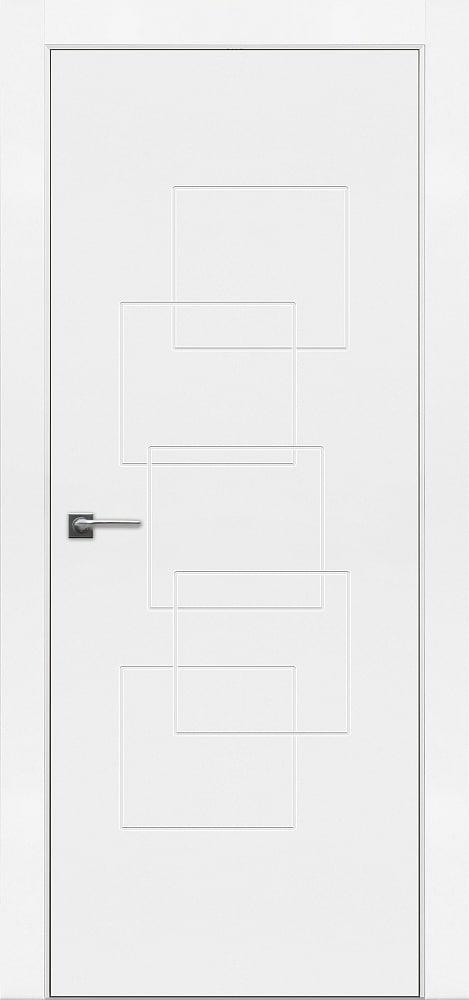 Дверь Fineza Puerta MODERN эмаль модель PG BLANCA 5