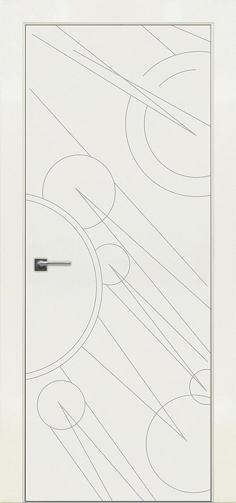 Дверь Fineza Puerta MODERN эмаль модель PG BLANCA 3