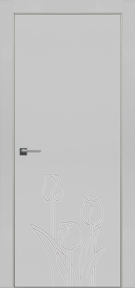 Дверь Fineza Puerta MODERN эмаль модель PG BLANCA 4