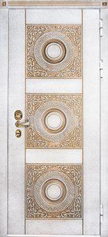 Входная дверь Beldoorss Круг белый