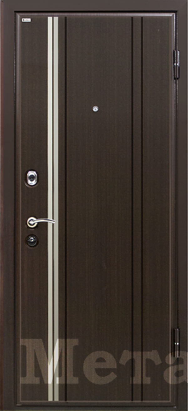 Дверь МеталЮр М2 венге