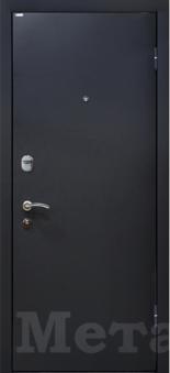 Дверь МеталЮр М21 венге