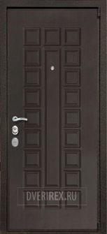 Входная Дверь Rex REX 4A Зеркало Венге