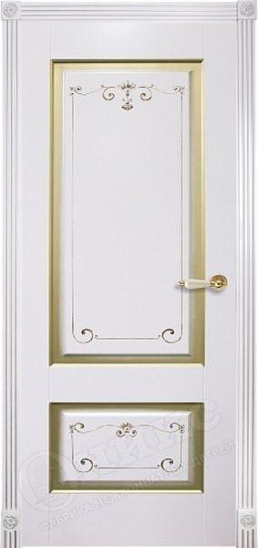 Дверь Оникс Коллекция Классика модель Марсель с фрезой
