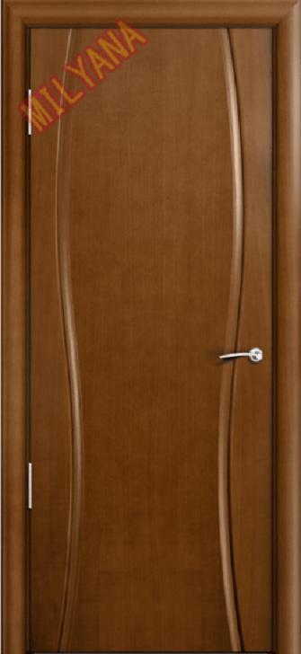 Межкомнатная дверь MILYANA Omega 1 (широкое стекло)
