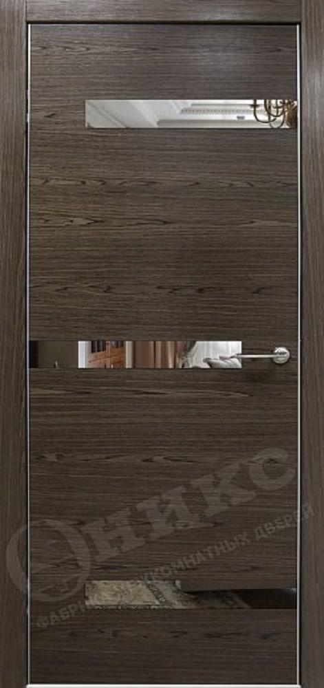 Дверь Оникс Коллекция Техно модель Силуэт
