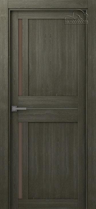 Межфскомнатная дверь BELWOODDOORS Мадрид 04 Анкор Аш Серый