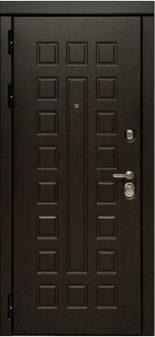Входная дверь МД 30 Сенатор с зеркалом
