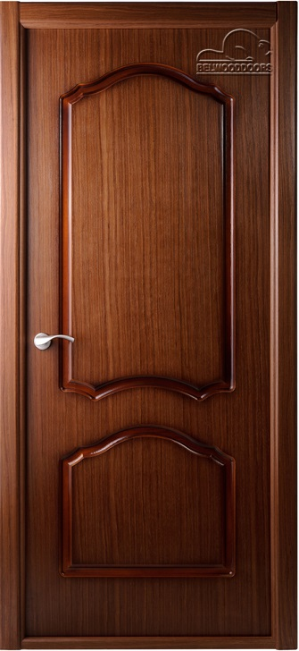 Межкомнатная дверь BELWOODDOORS Каролина глухое орех