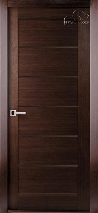 Межкомнатная дверь BELWOODDOORS Мирелла глухая венге