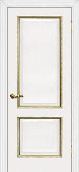Межкомнатная дверь Мурано 1Белый золото