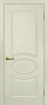 Межкомнатная дверь МАРИАМ Сиена-1, Ваниль, глухая