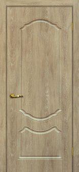 Межкомнатная дверь МАРИАМ Сиена-2, Дуб песочный, глухая